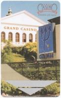 FORGES-les-EAUX (76) CARTE. CLE HOTEL GRAND CASINO. CLUB MED. - Cartes D'hotel