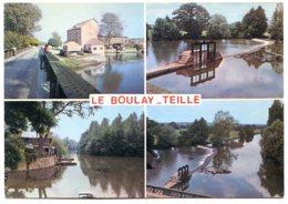 72290 LE BOULAY-TEILLÉ - Vues Multiples Sur La Sarthe, Vannes, Moulin - Autres Communes