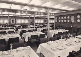 CONTE BIANCAMANO. CLASSE CABINA. SALA DA PRANZO. SOCIETA DI NAVIGAZIONE, GENOVA. CPA CIRCA 1960s L'ITALIE - BLEUP - Barche
