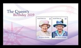 Australia 2019 Mih. 4927/28 (Bl.443) Queen Elizabeth II MNH ** - 2010-... Elizabeth II