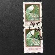 ◆◆◆Taiwán (Formosa)  1977  Designs As 1976 Issue.   $1 X2   USED   AA2326 - 1945-... República De China