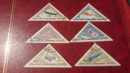 1968 Airplanes E Rockets - Yemen