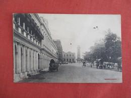 Queen Street Colombo   Has Stamp & Cancel  Tack Hole Center  > Ref 3272 - Sri Lanka (Ceylon)