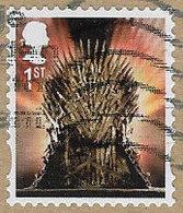 GB 2018 Game Of Thrones 1st Small Self Adhesive Good/fine Used [36/30528/ND] - 1952-.... (Elizabeth II)