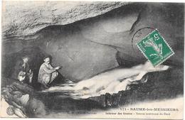 BAUME LES MESSIEURS - 39 - Intérieur Des Grottes- Source Intérieure Du Dard - BES3 - - Baume-les-Messieurs
