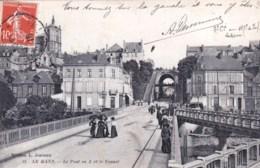 72 - Sarthe -  LE MANS - Le Pont En X Et Le Tunnel - Le Mans