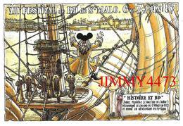 CPM - SAINT MALO 35 Ille Et Vilaine - 7è FESTIVAL DE B D  Juin 1987 - Dessin De LIDWINE - Edit. S.M.A.C. - Bourses & Salons De Collections