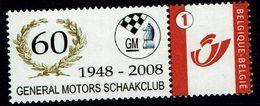 Schach Chess Ajedrez échecs - Belgiien Belgie Belgium - General Motors Schaakclub - Sellos Privados