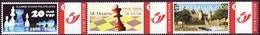 Schach Chess Ajedrez échecs - Belgiien Belgie Belgium - VSP / SK.Deurne / Benefralux 2008 - MiNr 3748 - Sellos Privados