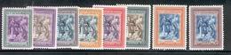 SAN MARINO 1947 St. Marinus Raising The Republic Scott Cat. No(s). 260-265 & C52-C53 MH (b) - Unused Stamps