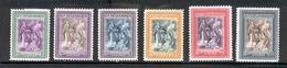 SAN MARINO 1947 St. Marinus Raising The Republic Scott Cat. No(s). 260-265 - Unused Stamps
