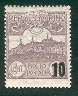 SAN MARINO 1941 Scott Cat. No(s). 188 MH - Unused Stamps