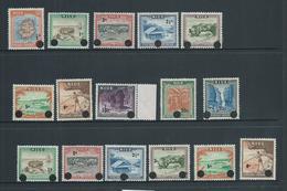 Niue 1967 Decimal Definitive Overprint Set Of 10 MNH , + 1c - 8c Duplicates MNH - Niue