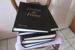 6 Albums Yt  De 1849 à 1999 Souvent Avec Pochettes Quelques Timbres - Albums & Reliures