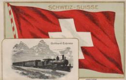 Gotthard Express................ - Alte Karte    (ke1271  ) Siehe Scan - Suisse