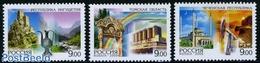 Russia 2009 Regions 3v, (Mint NH), Art - Castles & Fortifications - Science - Mining - 1992-.... Föderation