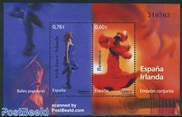 Spain 2008 Dance, Joint Issue Ireland S/s, (Mint NH), Performance - Dance & Ballet - Music - Various - Joint Issue.. - 2001-10 Nuovi