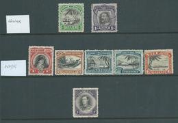 Niue 1932 - 1946 Definitives Selection Of 8 M & U - Niue
