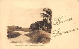 Congo Belge Postcard Boma Crocodiles River 1920 - Zonder Classificatie
