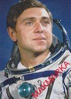 MAKMARKA SPACE RUSSIA 2019.01.21 AUTOGRAPH KOSMONAVT VOLKOV (3 SPACE FLIGHTS) 1 POST CARD (10Х15) - Autógrafos