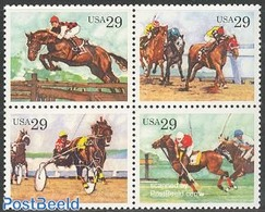 United States Of America 1993 Horse Sports 4v [+], (Mint NH), Nature - Horses - Sport - Sport (other And Mixed) - Vereinigte Staaten