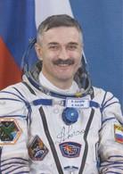 MAKMARKA SPACE RUSSIA 2019.01.29 XLIII SPACE READING AUTOGRAPH KALERI (5 FLIGHTS) 1 POST CARD (10Х15) - Autógrafos