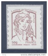 N° 855 Marianne Adhésif Année 2013, Valeur Faciale 50g - Adhésifs (autocollants)