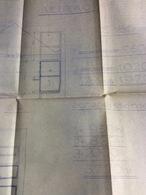 Plan D' Architecte :  98x60 Cm (1946) - Architecture