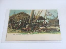 BS- 1900 -SEMINOLE INDIAN VILLAGE - FLORIDA - Indiens De L'Amerique Du Nord