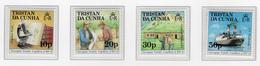 1987 - TRISTAN DA CUNHA - Yv.  Nr. 410/413 - NH - (UP131.11) - Tristan Da Cunha