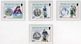 1988 - TRISTAN DA CUNHA - Yv.  Nr. 424/427 - NH - (UP131.11) - Tristan Da Cunha