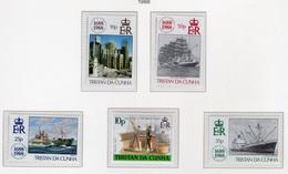 1988 - TRISTAN DA CUNHA - Yv.  Nr. 432/435 - NH - (UP131.11) - Tristan Da Cunha