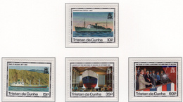 1990 - TRISTAN DA CUNHA - Yv.  Nr. 475/478 - NH - (UP131.12) - Tristan Da Cunha