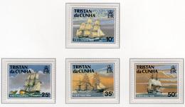 1990 - TRISTAN DA CUNHA - Yv.  Nr. 479/482 - NH - (UP131.12) - Tristan Da Cunha