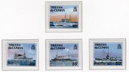 1991 - TRISTAN DA CUNHA - Yv.  Nr. 483/486 - NH - (UP131.12) - Tristan Da Cunha