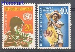 Indonesia 1971 Mi 696-697 MNH ( ZS8 INS696-697dav139A ) - Childhood & Youth