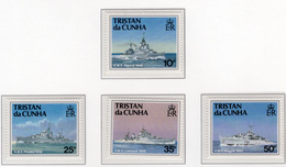 1993 - TRISTAN DA CUNHA - Yv.  Nr. 537/540 - NH - (UP131.13) - Tristan Da Cunha