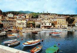 Croatia Volosko Boats Bateaux Port Auto Cars Voitures - Kroatien