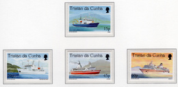1998 - TRISTAN DA CUNHA - Yv.  Nr. 611/614 - NH - (UP131.14) - Tristan Da Cunha