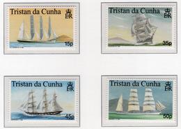 1998 - TRISTAN DA CUNHA - Yv.  Nr. 615/618 - NH - (UP131.14) - Tristan Da Cunha