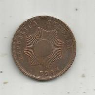 MONNAIE , PEROU , Republica PERUANA , 1948 ,  Dos Centavos ,  2 Scans - Pérou