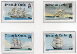 1999 - TRISTAN DA CUNHA - Yv.  Nr. 619/622 - NH - (UP131.14) - Tristan Da Cunha
