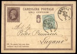 1863, Italien, 16 + GA, Brief - Italien