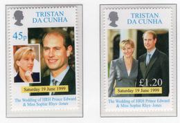 1999 - TRISTAN DA CUNHA - Yv.  Nr. 627/628 - NH - (UP131.14) - Tristan Da Cunha