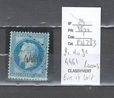 France  Obliteration  Petit Chiffre Du  Gros Chiffre 4461 Laons En Eure Et Loir - Marcophilie (Timbres Détachés)