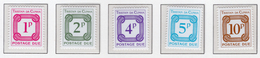 1976 - TRISTAN DA CUNHA - Yv.  Nr. TAXE 6/10 - NH - (UP131.15) - Tristan Da Cunha