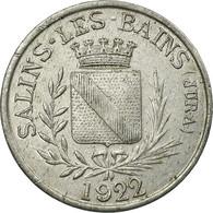 Monnaie, France, F.C.I.M, 260ème Section, Salins-Les-Bains, 5 Centimes, 1922 - Monétaires / De Nécessité