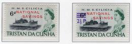 2000 - TRISTAN DA CUNHA - Yv.  Nr. 132 + 152A - (UP131.16) - Tristan Da Cunha