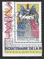 FRANCE  2669 Bi-centenaire Révolution Création Du Drapeau Tricolore . - France