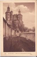 CPA - 2826. MONTBELIARD Canal De La Savoureuse Et Le Château - Montbéliard